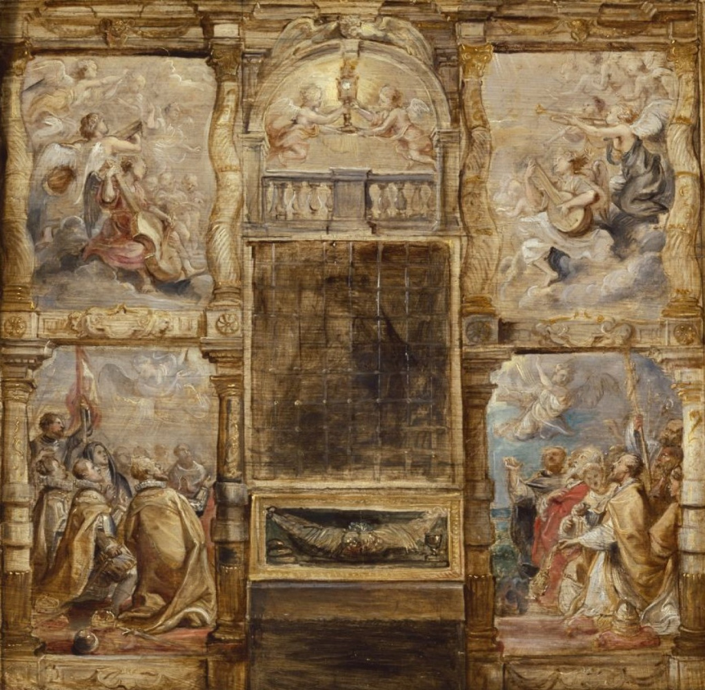 Peter Paul Rubens. The Adoration od the Eucharist