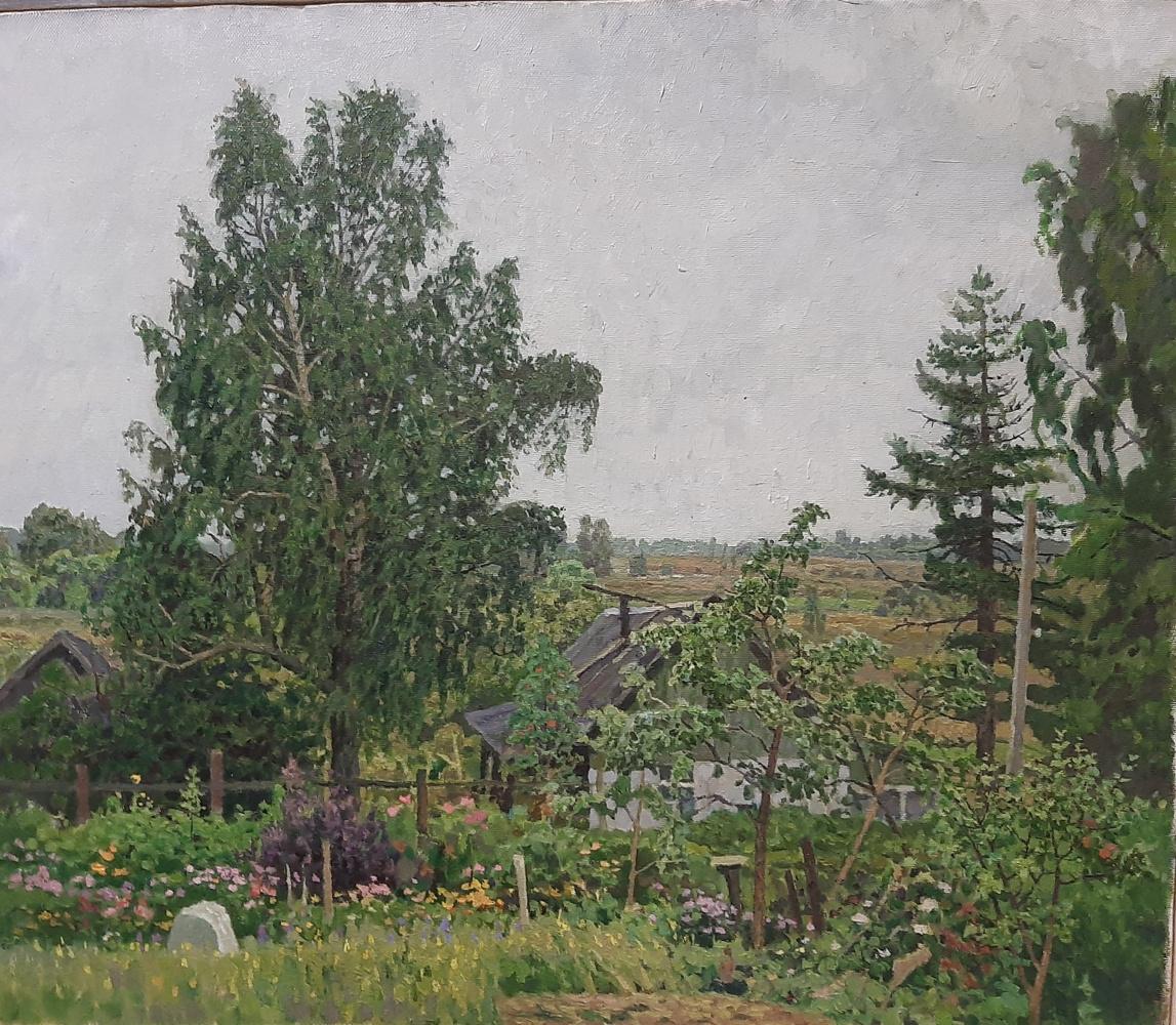 Pavel Soloviev. Mainly cloudy