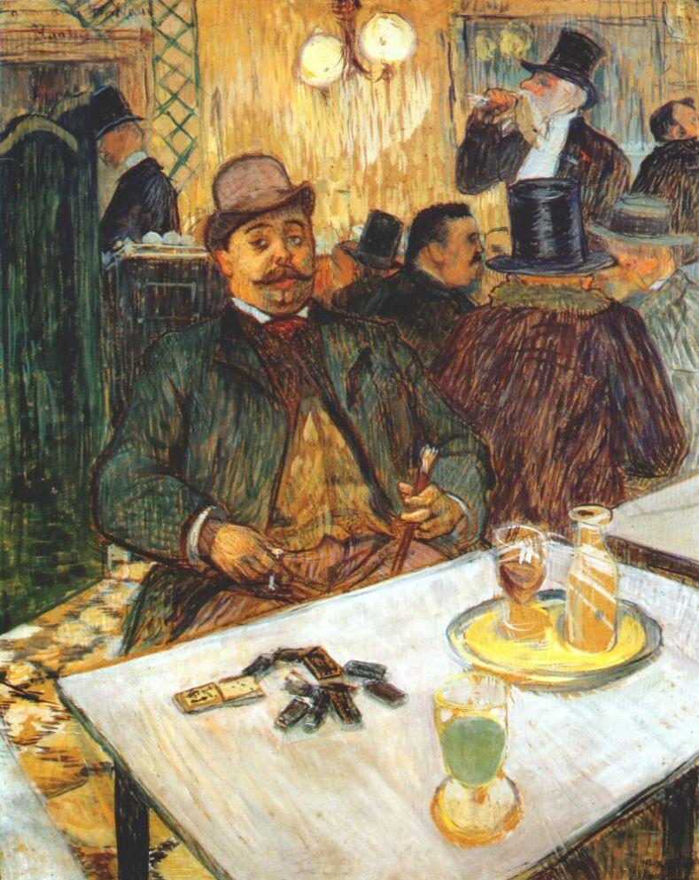 Анри де Тулуз-Лотрек. Портрет месье Буало