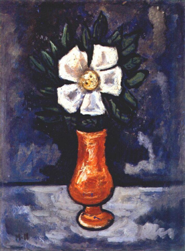 Marsden Hartley. White flower
