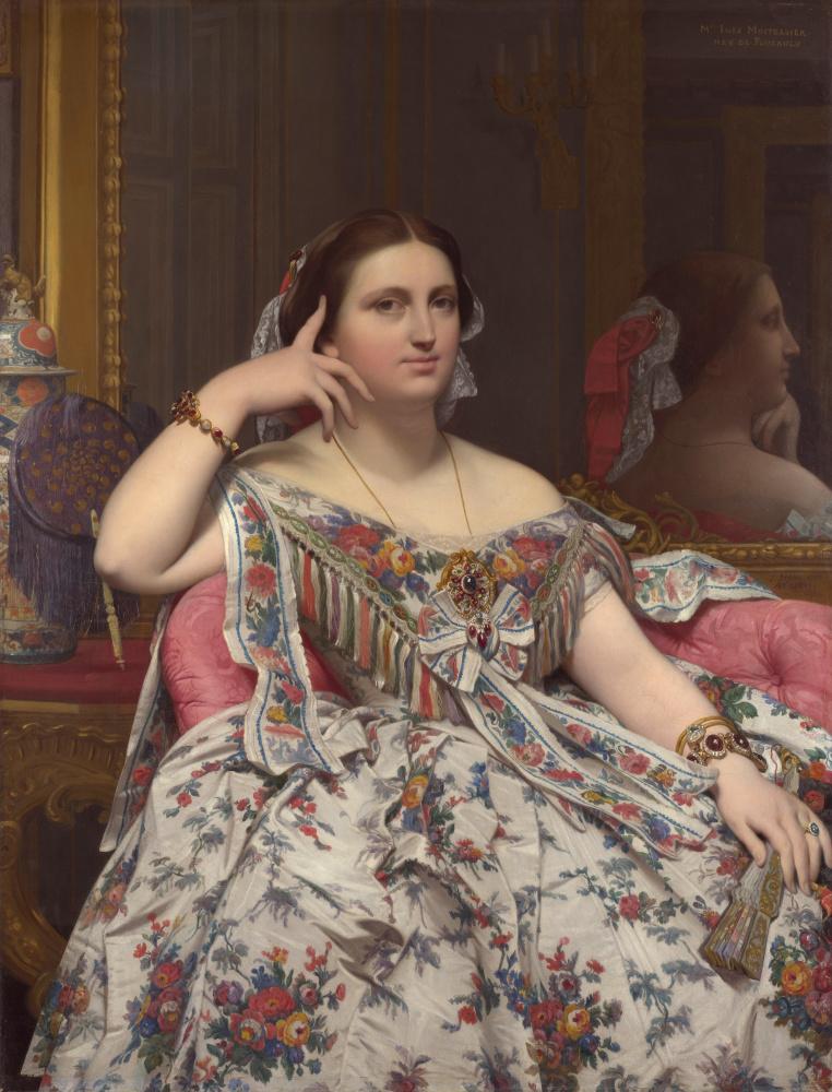 Jean Auguste Dominique Ingres. Madame Moitessier