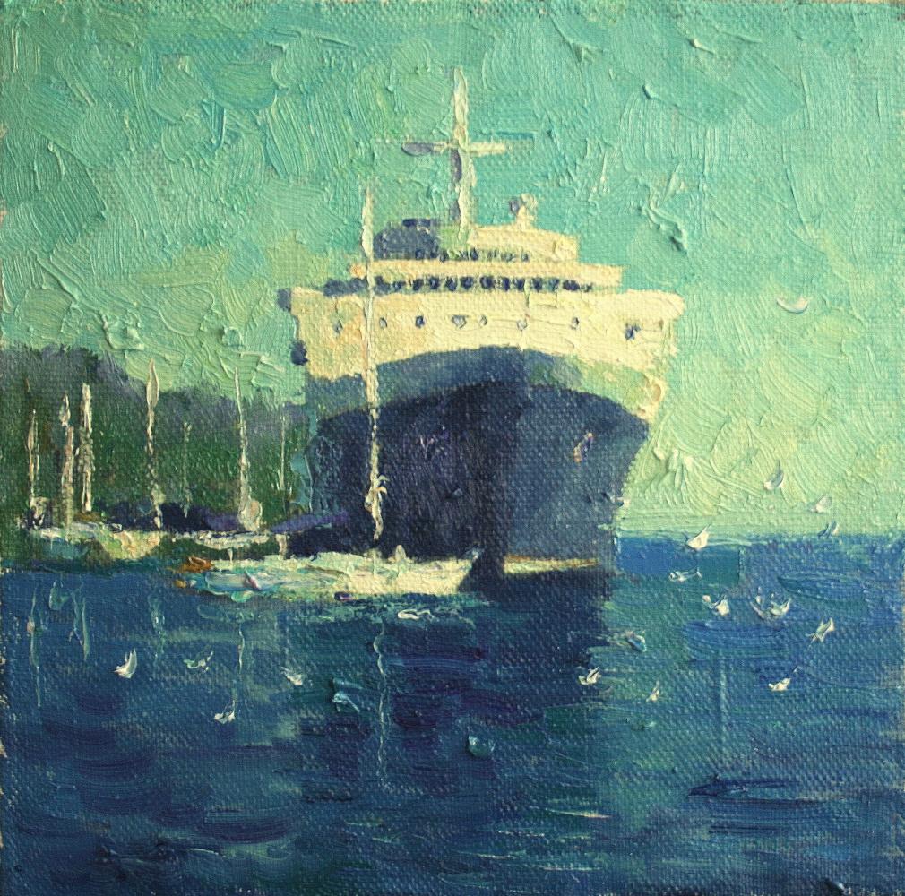 Mikhail Rudnik. In the port of Marmaris
