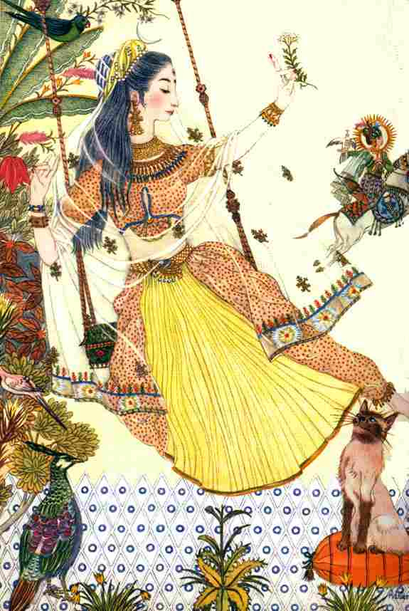 Адриенн Сегур. Легенда о кошке Патрипат