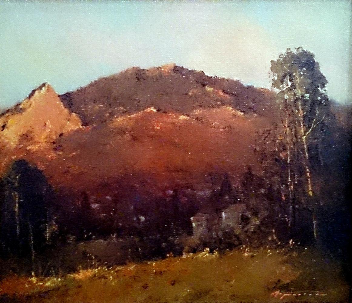 Alexander Markovich Kremer. Sunset