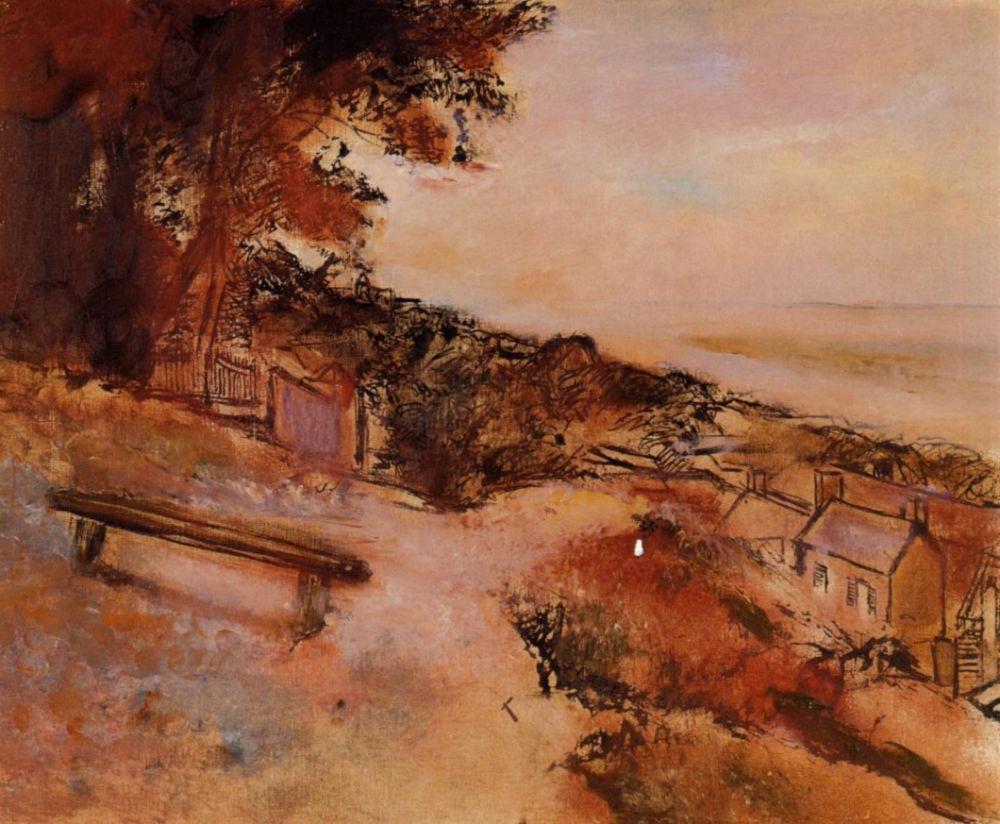 Эдгар Дега. Пейзаж с морем