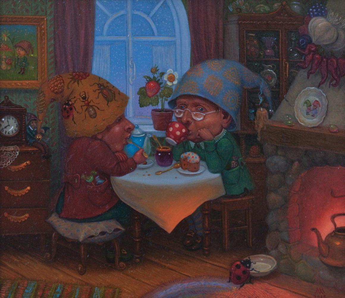 Михаил Лобырев. Gnomes