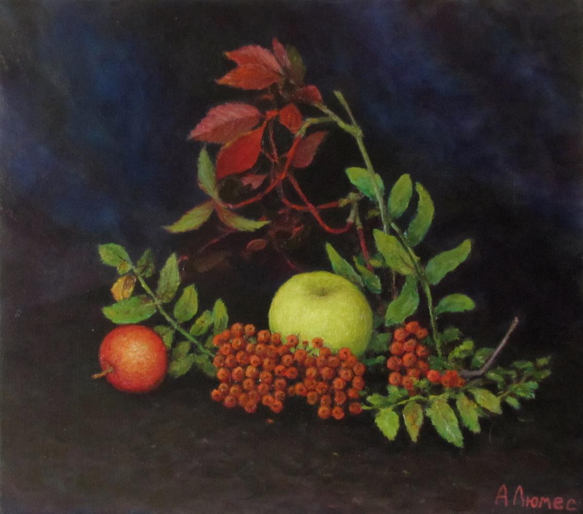 Andrew Lumez. Autumn still life