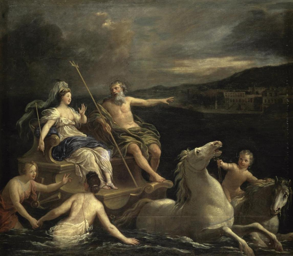 Bon Senior Boulogne. Triumph of Neptune