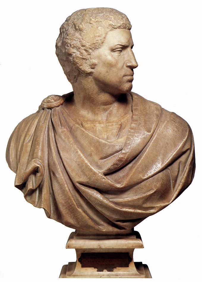 Michelangelo Buonarroti. Brutus