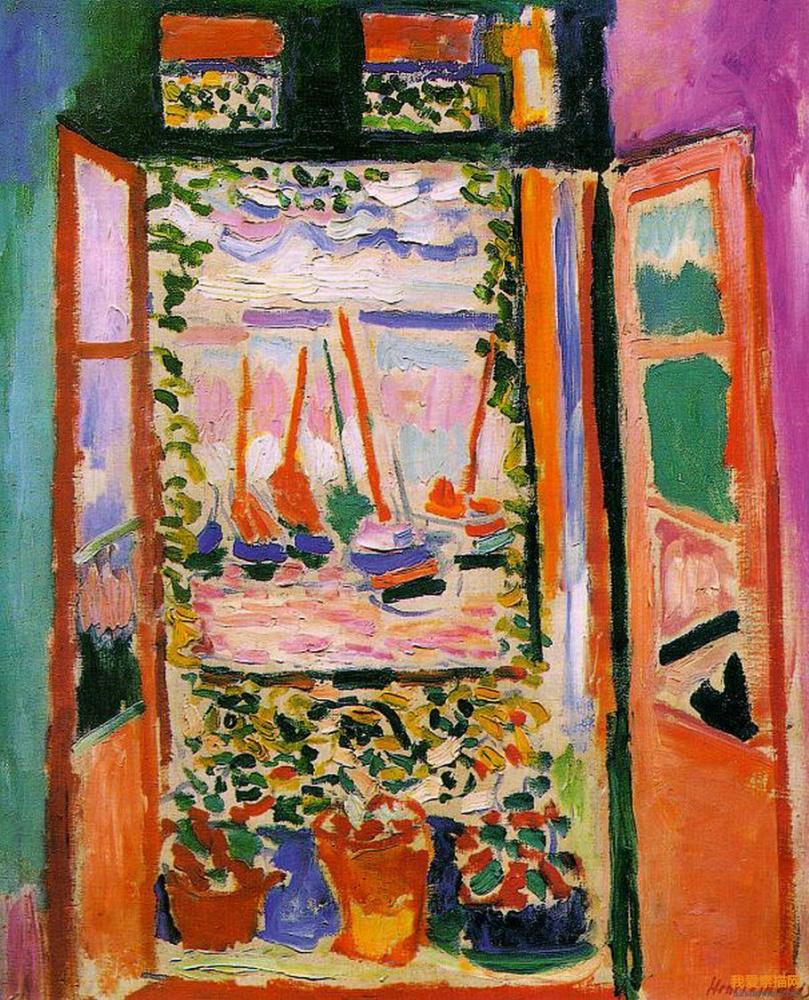 Henri Matisse. Open window