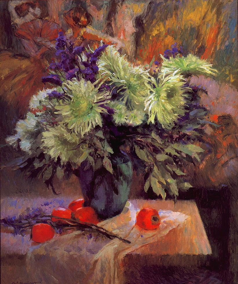 Ferson Mack. Bouquet in a vase