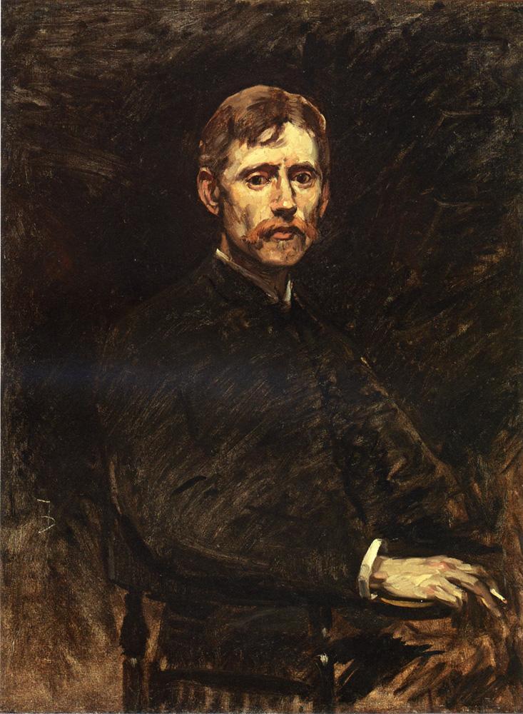 Фрэнк Дувенек. Мужской портрет