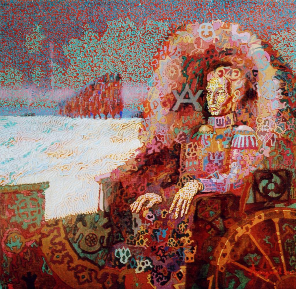 Алексей Петрович Акиндинов. Black River. Portrait of Alexander Pushkin