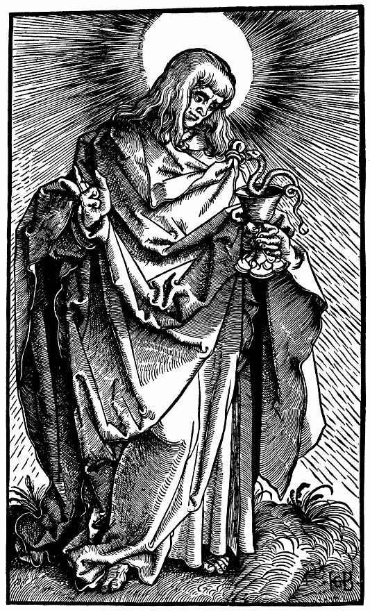 Ханс Бальдунг. Святой Иоанн Евангелист