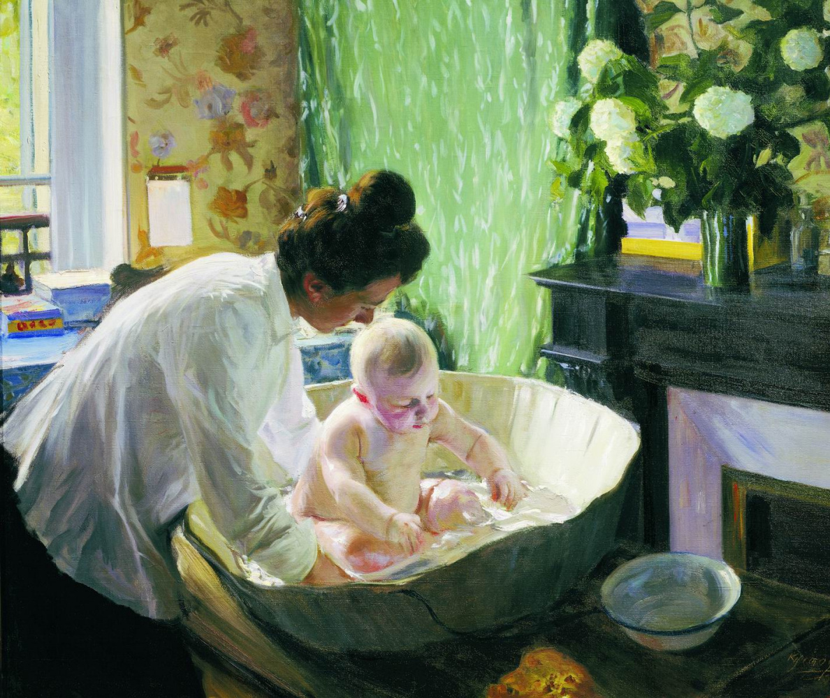Жена утром в ванне фото 277-726