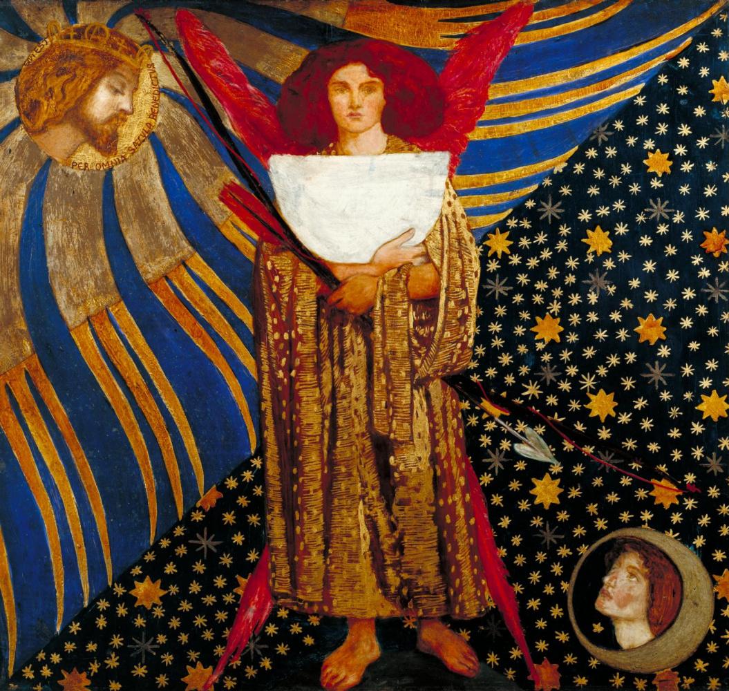 Dante Gabriel Rossetti. Dante's Love