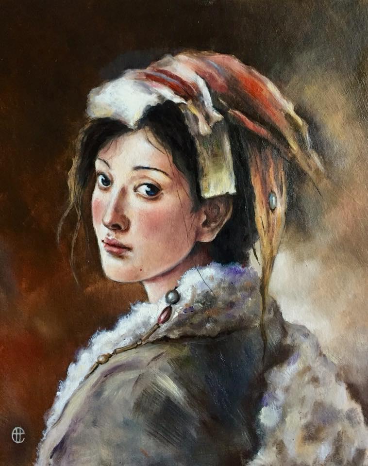 Hope Sosnovikova. Tibetan girl