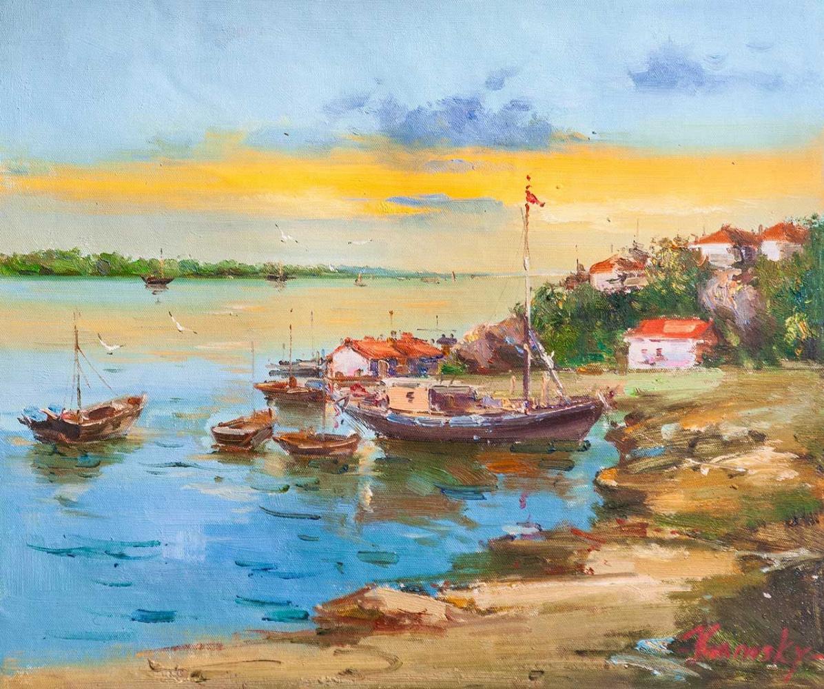 Savely Kamsky. Fishing village