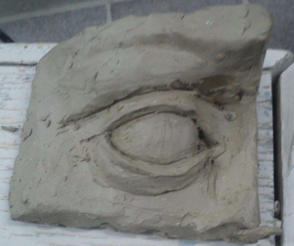 Zina Vladimirovna Parisva. Eye