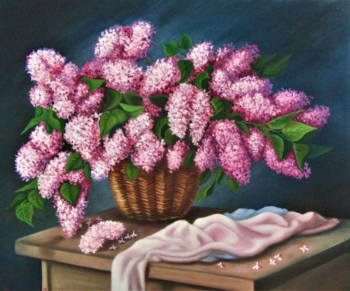 Natalia Viktorovna Tyuneva. Lilac