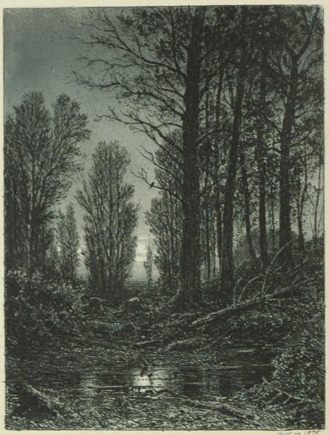 Ivan Ivanovich Shishkin. Dawn