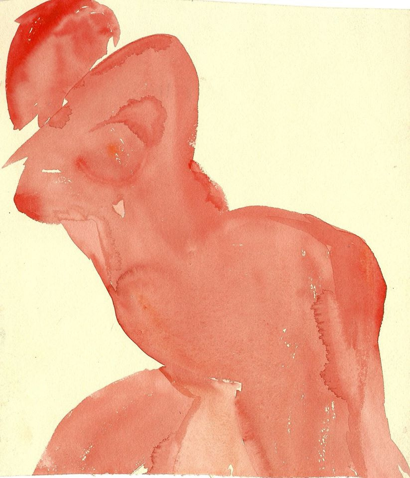 Victor Fedorov (1937-2010). Vladivostok.. Nude (Pink).