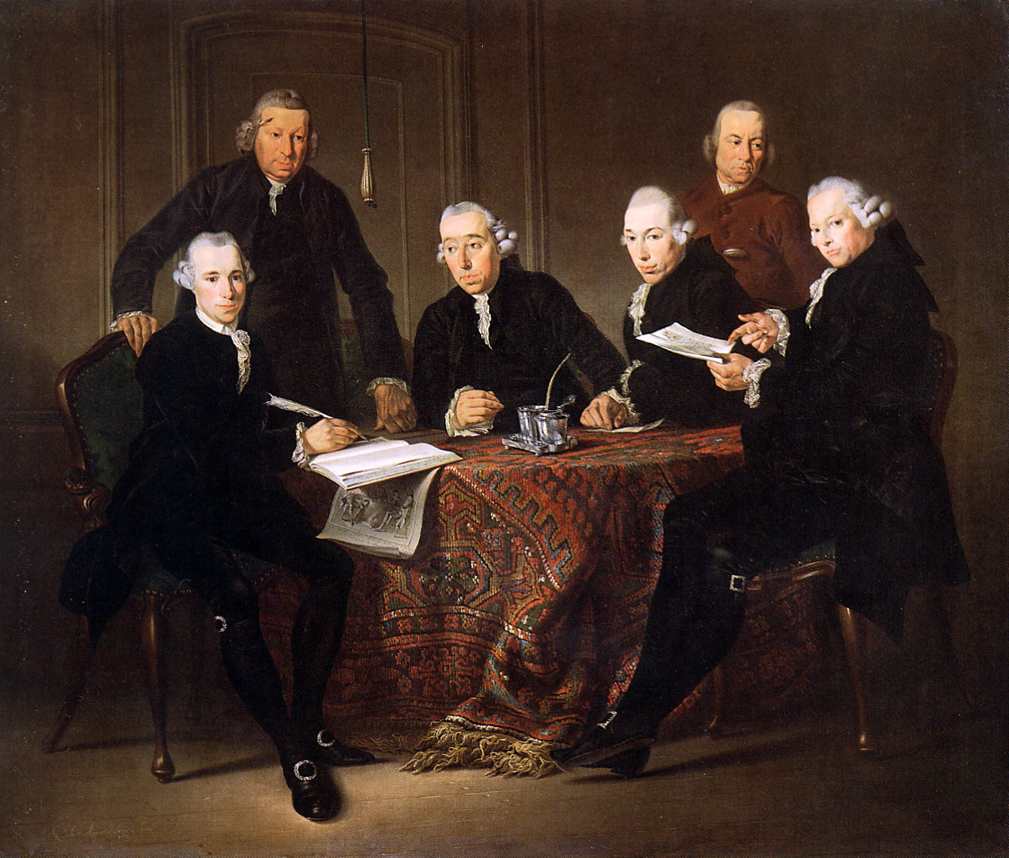Jakobus Augustini. The governors of the House of leprosy