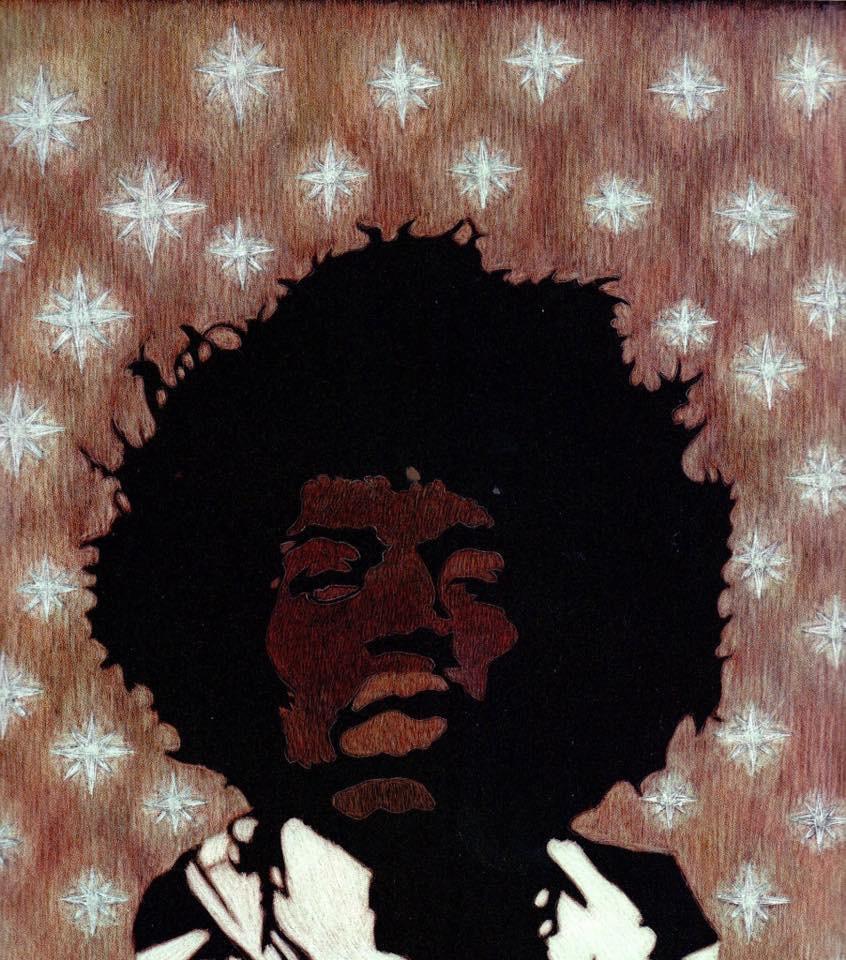 Martin Gurgenovich Ashkhatoev. Legend Jimi Hendrix