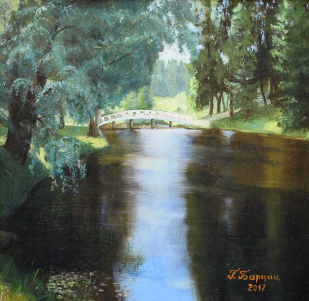 Gennady Shotovich Bartsits. Park in the village of Mikhailovsky