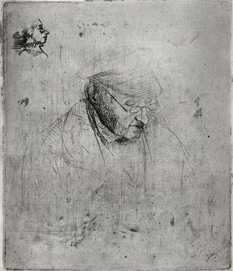 Edgar Degas. Portrait of Rene Hilaire, grandfather of the artist