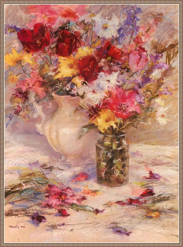 Grace Haverty. Fallen petals