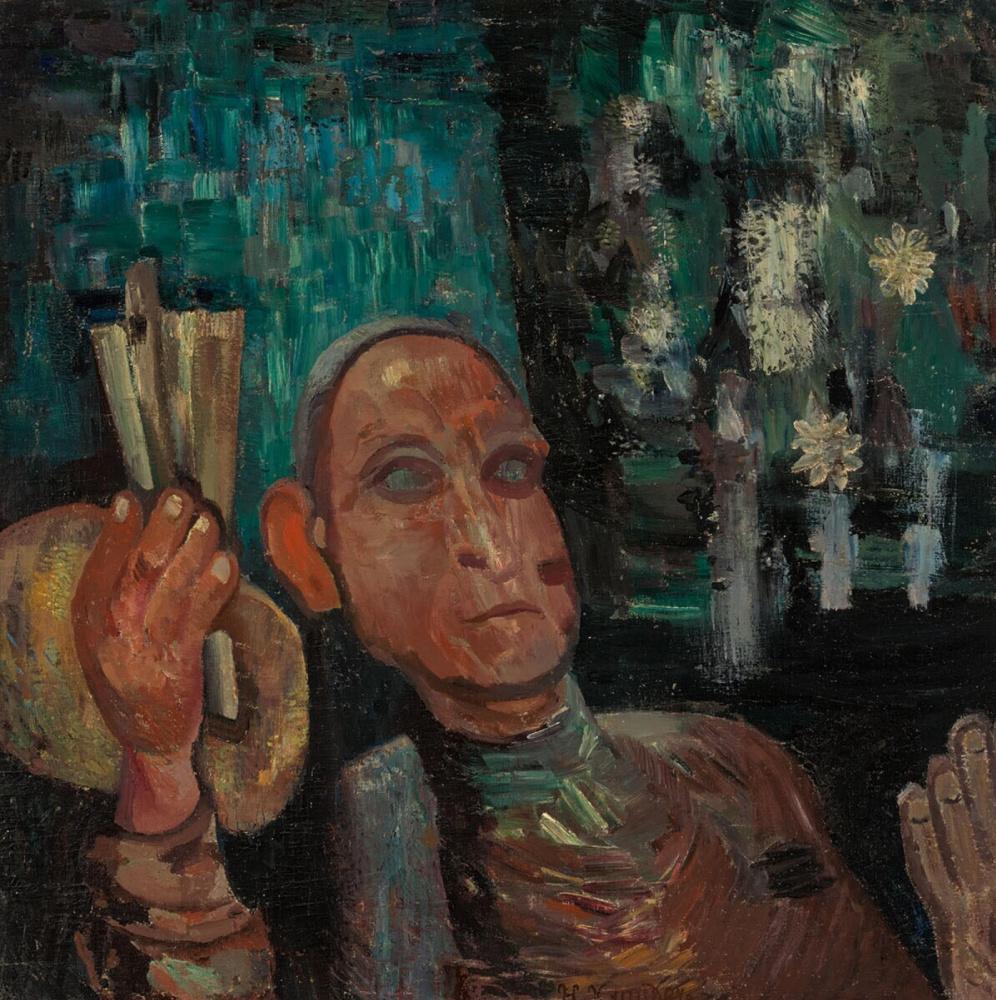 Herman Justus Kreider. Self-portrait