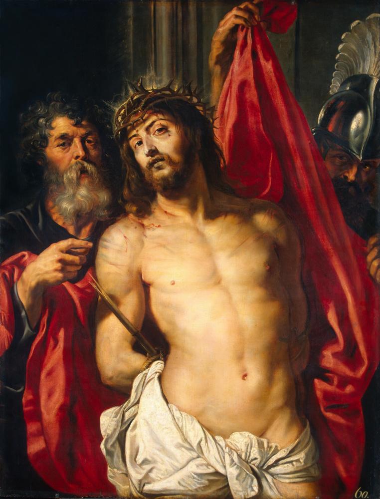 """Питер Пауль Рубенс. Христос в терновом венце (""""Се человек"""")"""
