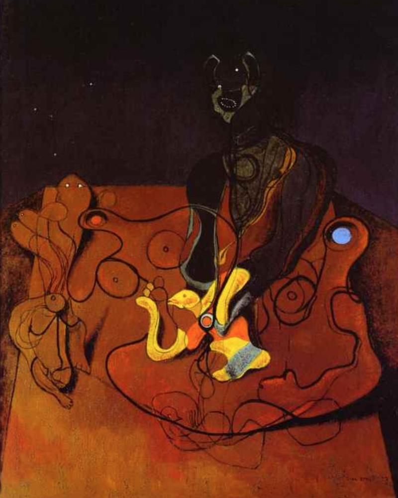 Max Ernst. Night of love