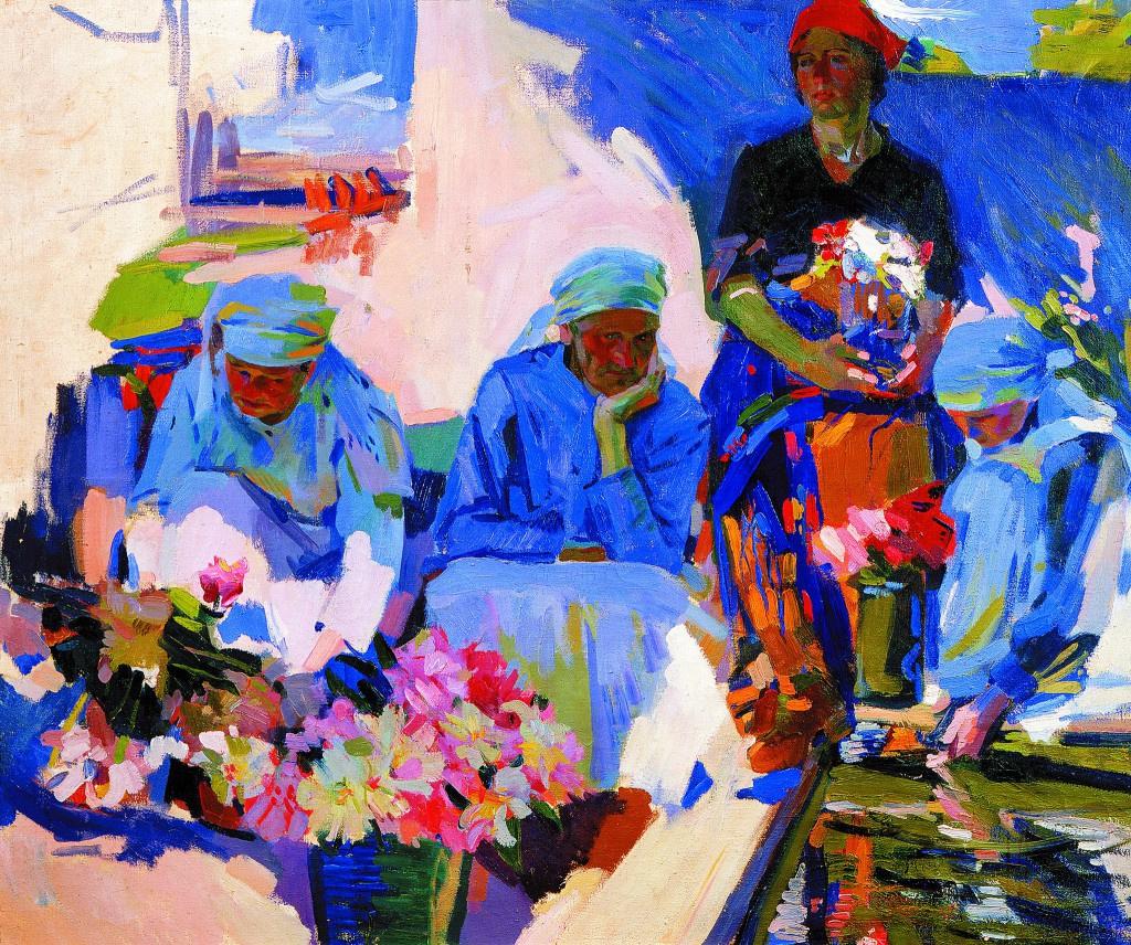 Alexander Murashko. Flower Saleswomen