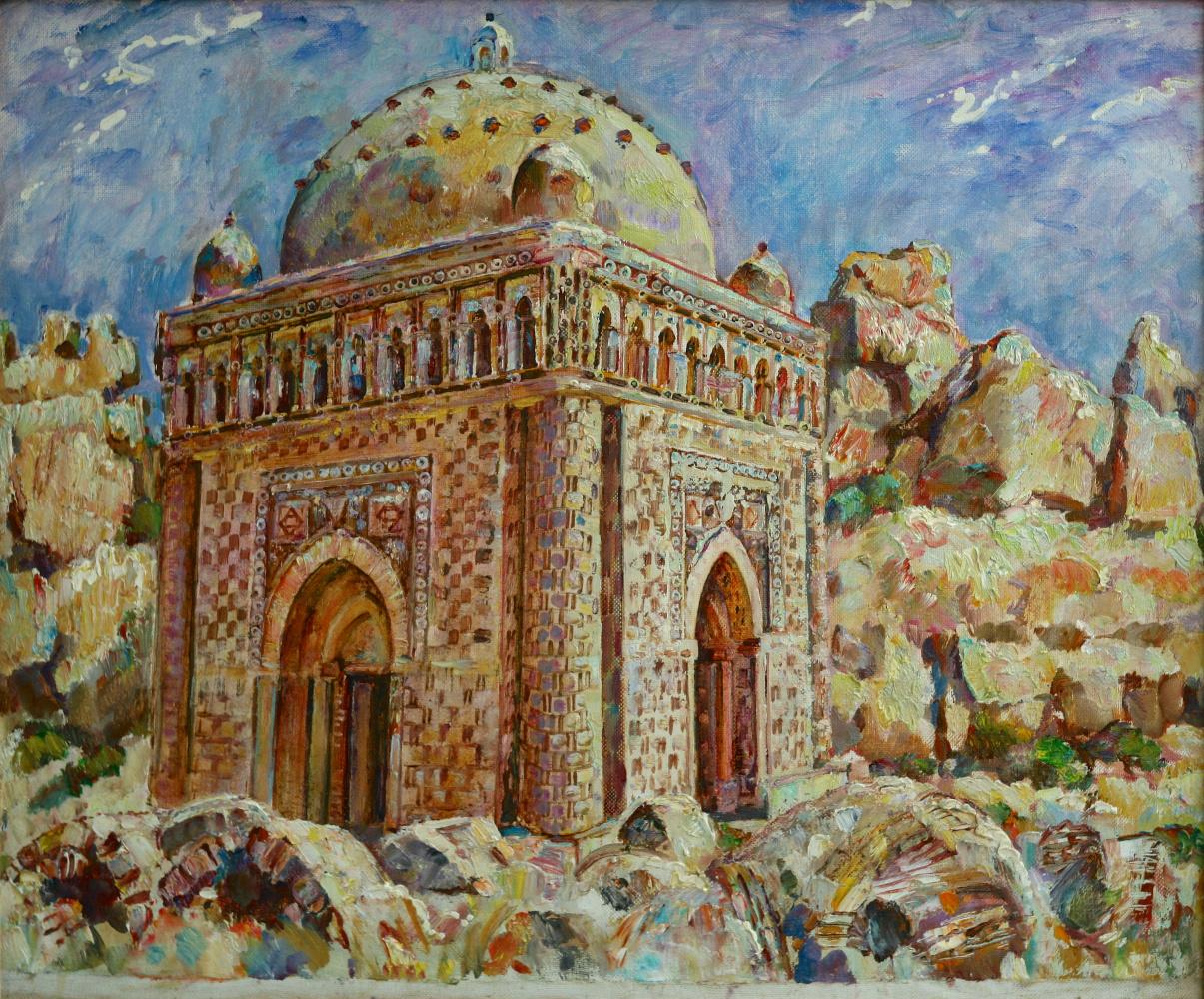 Янис Салпинкиди. Бухара мавзолей