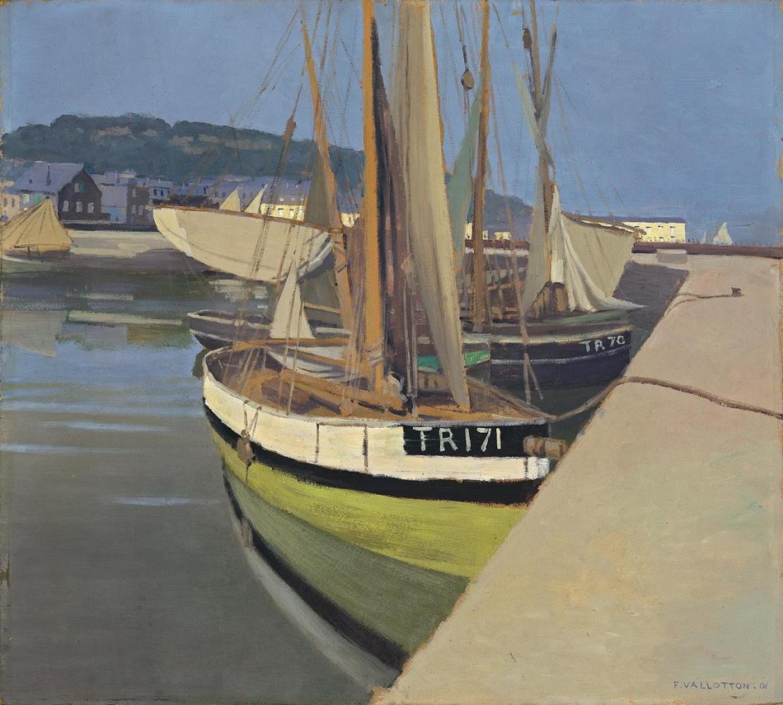 Felix Vallotton. Port (Un port)