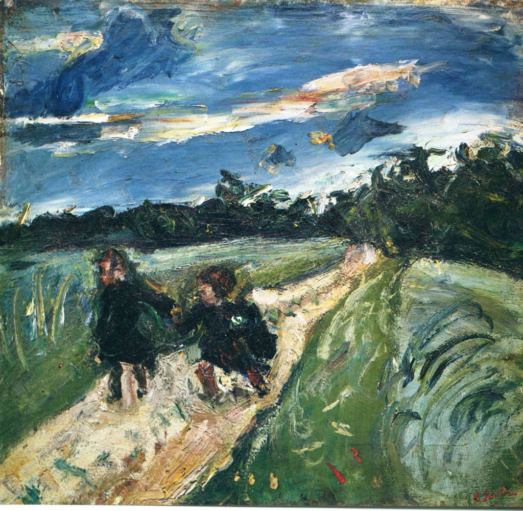 Chaim Soutine. Return from school after the storm