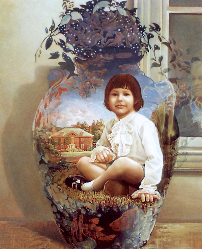 Rowena Morrill. Portrait Of Anthony