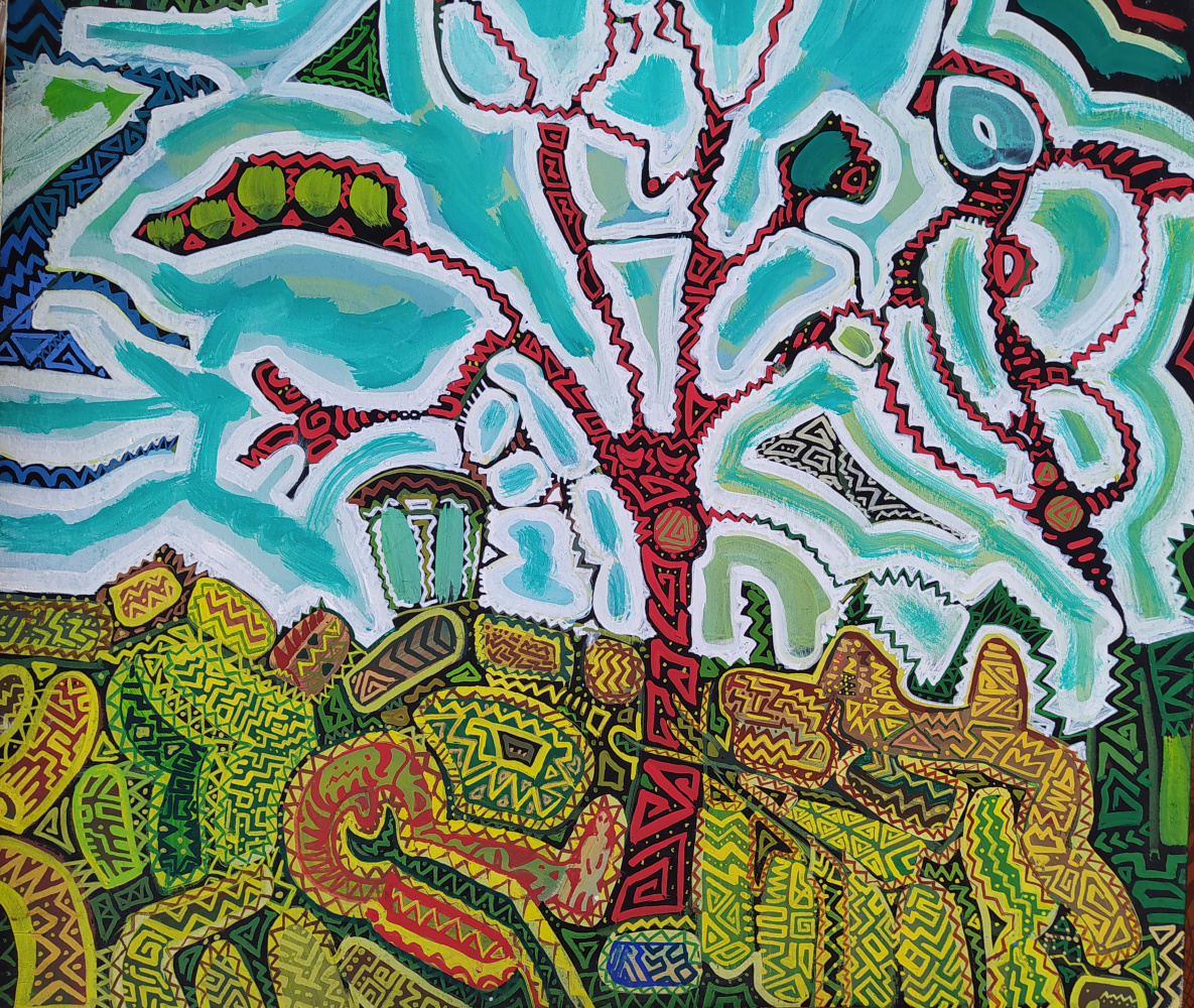 Artem Zavadsky. The Red tree
