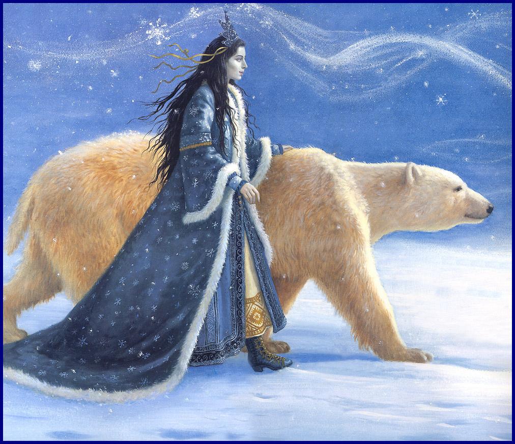 Рут Сандерсон. Большая белая медведица