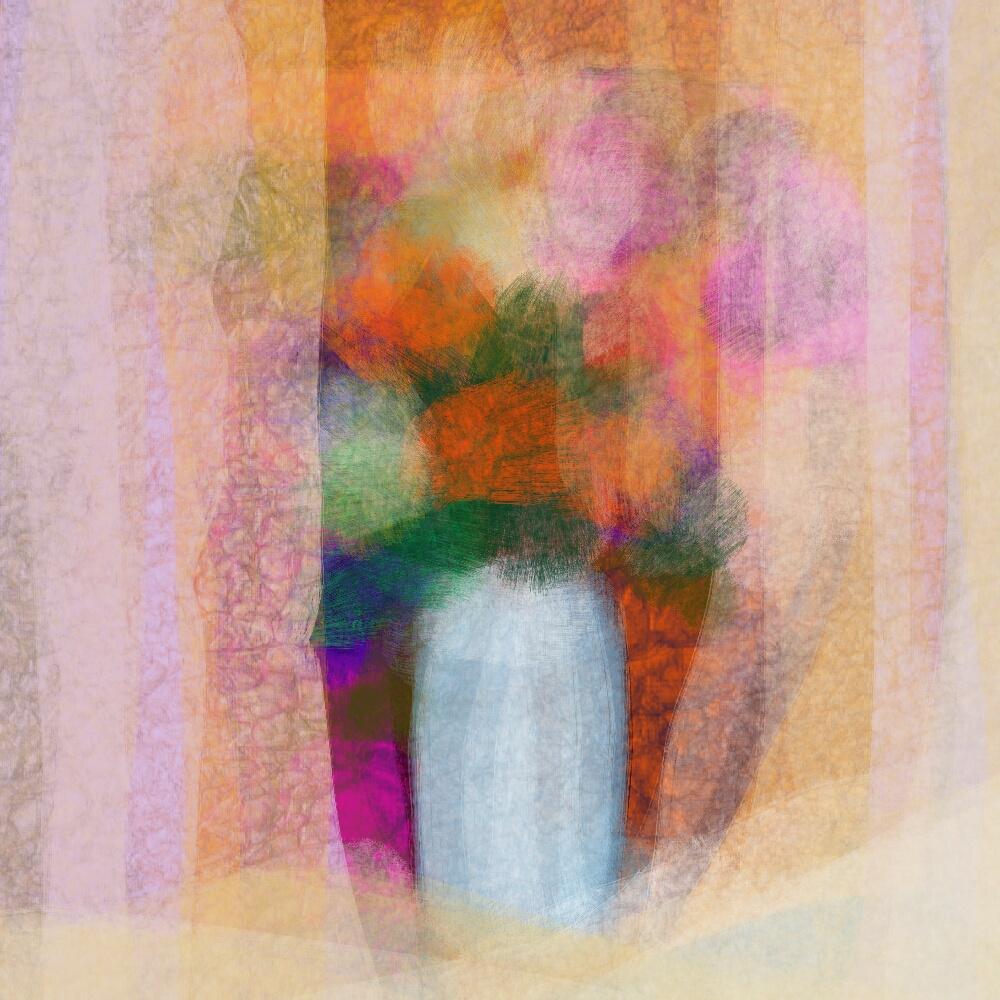 Daria Kazarinova-Pylnova. Chrysanthemums