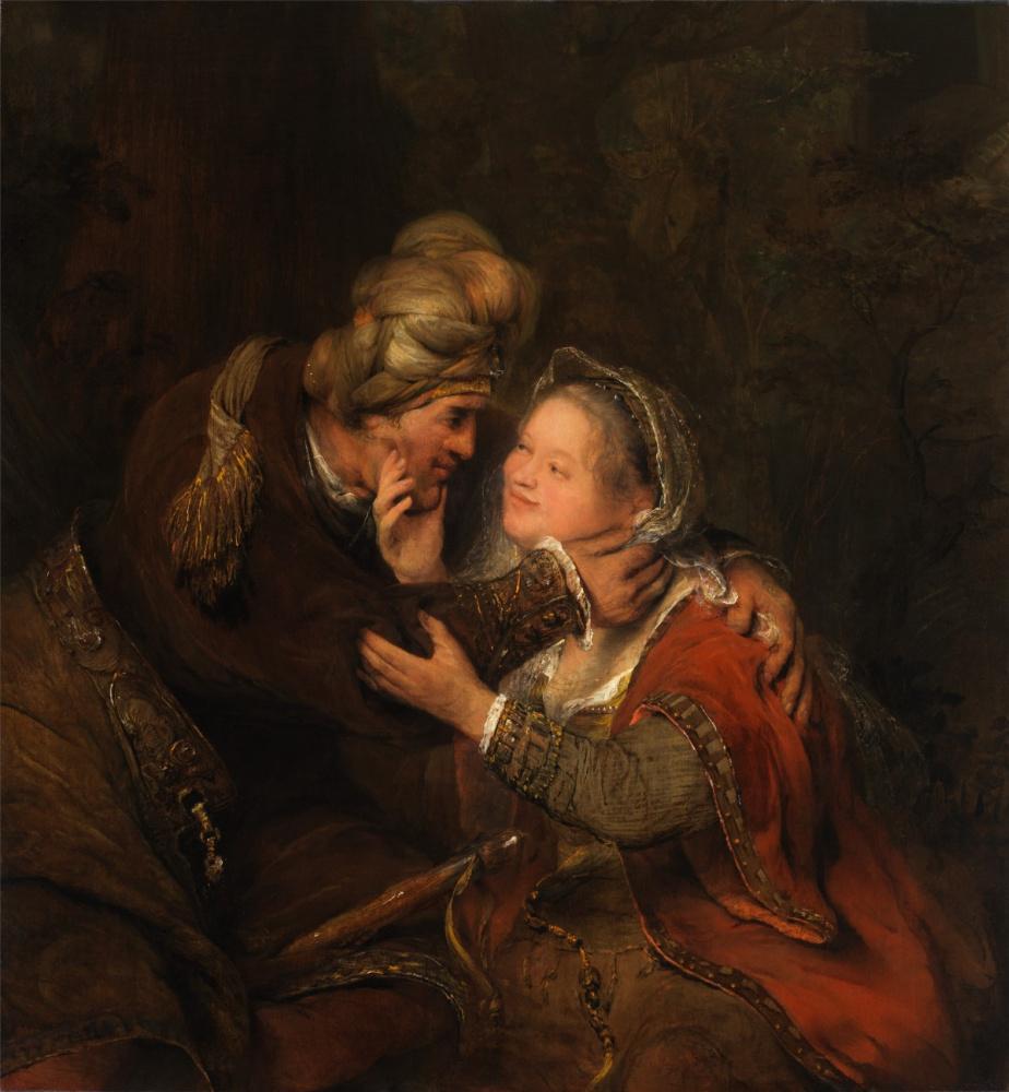 Арт Йоханс де Гелдер. Иуда и Тамар