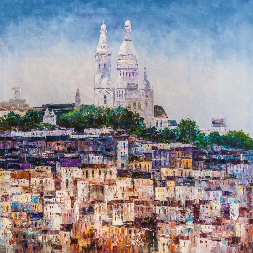"""(no name). """"Gray rose"""" of Montmartre N2"""