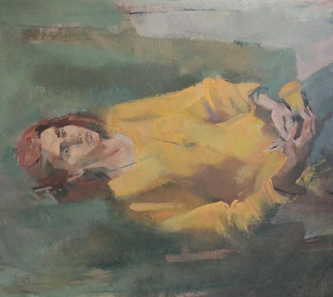 Tatyana Grigoryevna Meshkova. Portrait