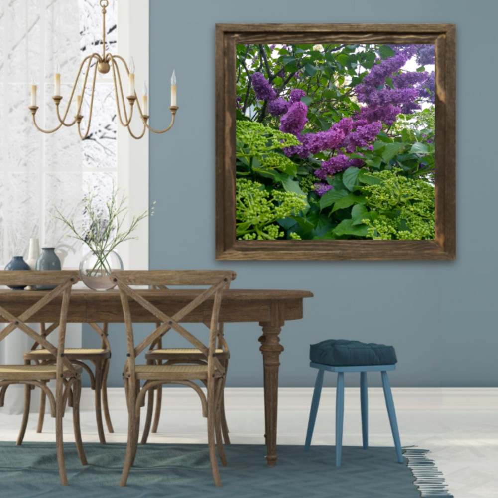 Natalya Garber. Lilac. Photo art for the dining area of the home or office