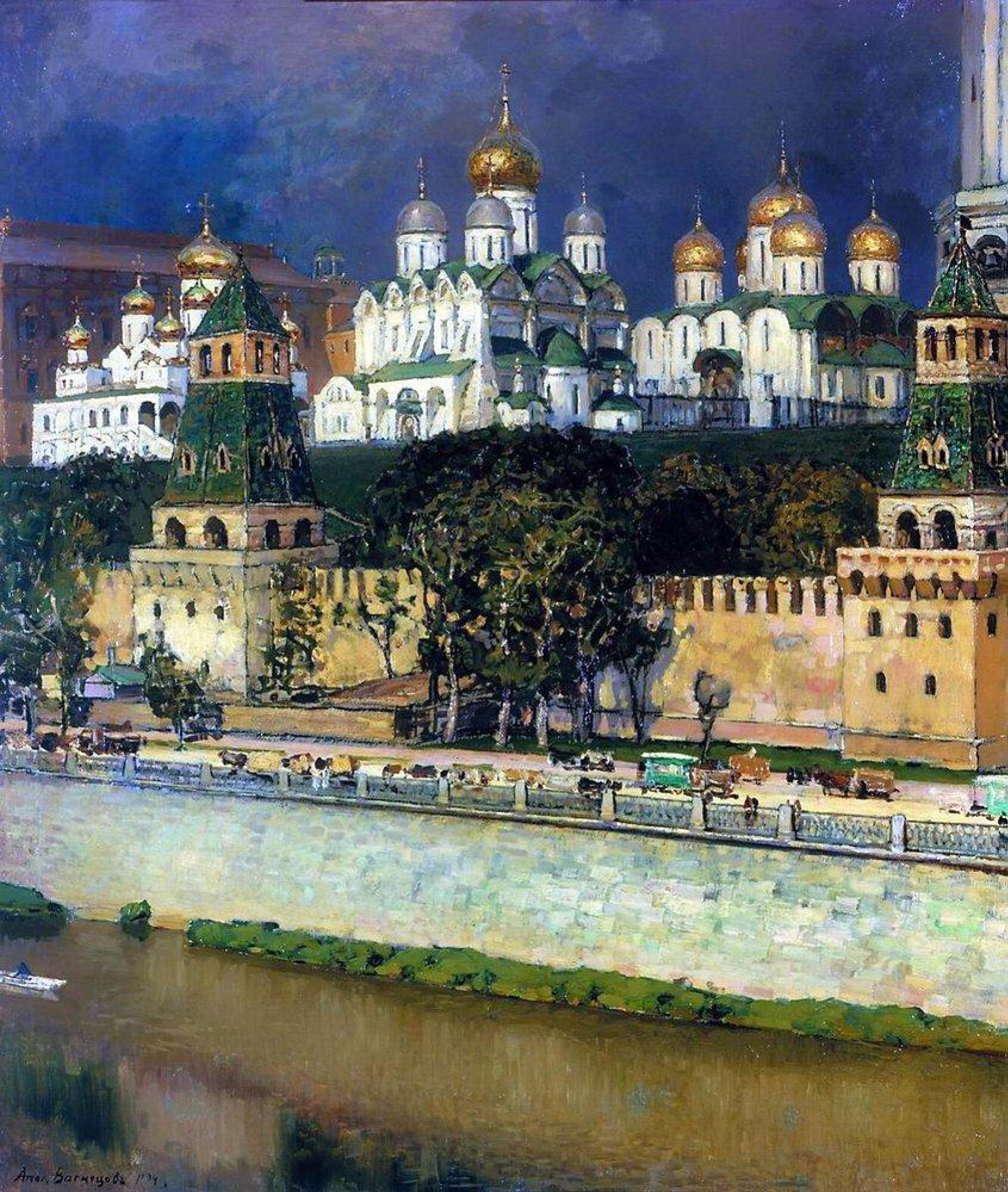 Аполлинарий Михайлович Васнецов. Московский Кремль
