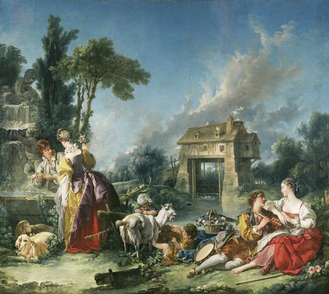 Francois Boucher. (no title)
