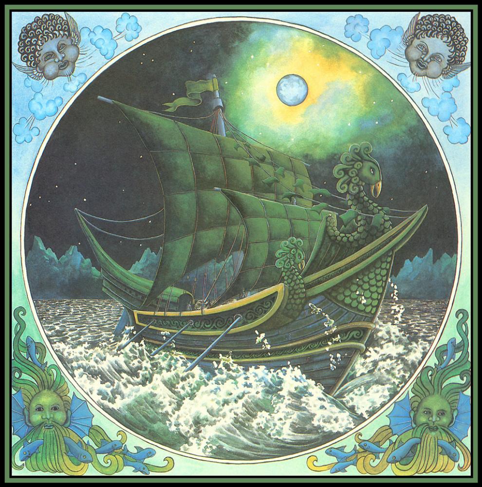 Una Woodruff. The ship sails