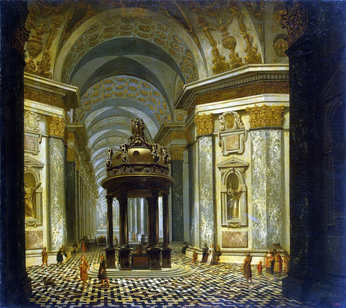 Вильгельм ван Эренберг. Внутренний вид церкви